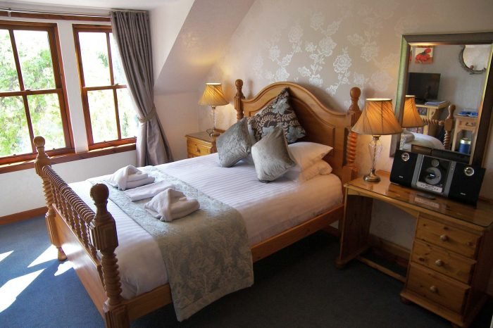 premium double bedroom at rosemount hotel